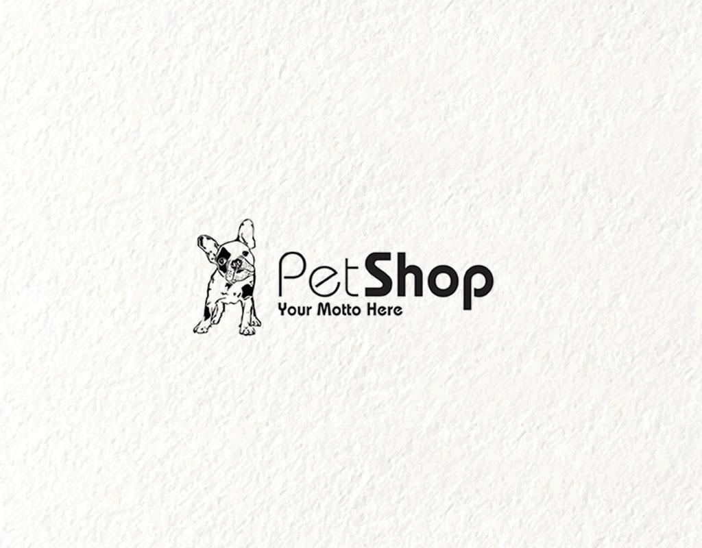 logo design concept for pet shops